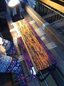loom with test weave